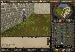 Annabel likes to play Runescape. Now she made herself a Runescape ...